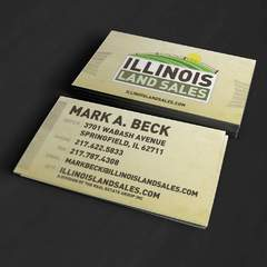 Hire Grant Darrah - Portfolio - Illinois Land Sales Business Cards