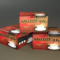 Hire Damon Merten - Portfolio - MontCafe Coffee Branding & Packaging