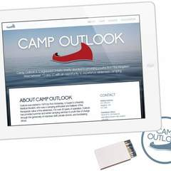 Hire Roberto Horta - Portfolio - camp outlook website mockup