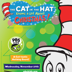 Hire Punch Robinson - Portfolio - PBS KIDS - Cat in the Hat Christmas Special