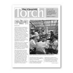 Hire Leanne Kershaw - Portfolio - The Churchill Torch NYC - Bimonthly Newsletter