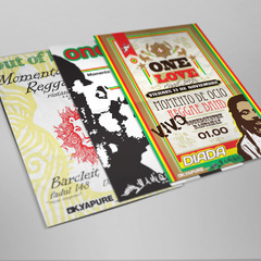 Hire Juan Carlzon - Portfolio - Reggae Party Posters