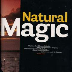 Hire Jenna Birch - Portfolio - Natural Magic