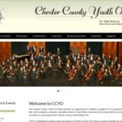 Hire Mark  Poteet - Portfolio - Chester County Youth Orchestra