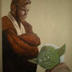 Hire Keith McShan - Portfolio - Star Wars mural