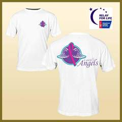 Hire Ken Banick - Portfolio - Laurel's Angels - Relay for Life Logo • T-Shirts