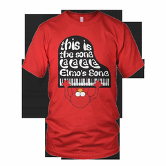 Hire Grant Darrah - Portfolio - Elmo Threadless Shirt
