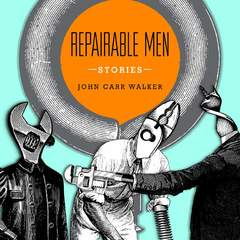 "Hire Stewart Williams - Portfolio - ""Repairable Men"" Book Cover"