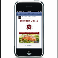 Hire Mengwen Xiang - Portfolio - Red Lobster mobile ads