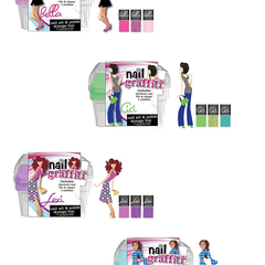 Hire Mary Seale - Portfolio - Nail Polish Kits