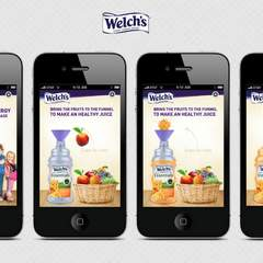 Hire Penelope Morla - Portfolio - Welch's (Mobile App) Slide No.1
