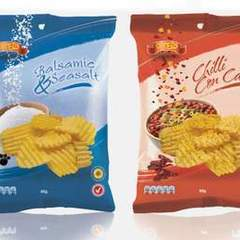 Hire Roger Adams - Portfolio - Laminated Foil Crisp Packaging