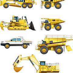 Hire Ruzzel Maestro - Portfolio - Heavy Equipment Illustration
