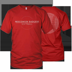 Hire Grant Darrah - Portfolio - Wisconsin Badgers 2012 Softball Shirt