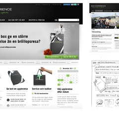 Hire Alexander Wiechel - Portfolio - New website (Box Experience)