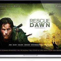 Hire Melvin Rivera - Portfolio - Rescue Dawn Website