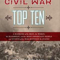 "Hire Stewart Williams - Portfolio - ""The Civil War Top Top 10"" Book Cover"