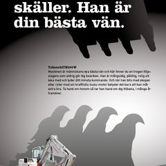 Hire Kasper Sperber - Portfolio - Ad for a Swedish construction company.