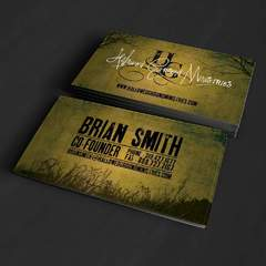 Hire Grant Darrah - Portfolio - Hallowed Ground Ministries Business Cards