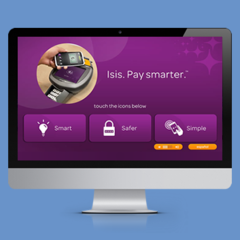 Hire Brittany Lawrence - Portfolio - AT&T Isis Kiosk Design