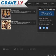 Hire Noah Diestelkamp - Portfolio - Crave.ly Site - Example Page