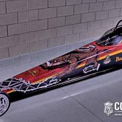 Hire Pete Martinez - Portfolio - Boars Head Dragster skin design