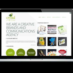 Hire Nelson Sakwa - Portfolio - Crystal Brands Communications Website Redesign