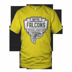 Hire Grant Darrah - Portfolio - Wayne Falcons Physical Education Shirt