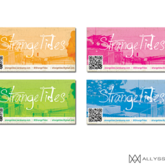 Hire Allyssa Marae - Portfolio - Band Promo Cards with QR Code