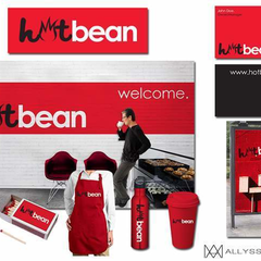Hire Allyssa Marae - Portfolio - Hot Bean Logo Design and Branding