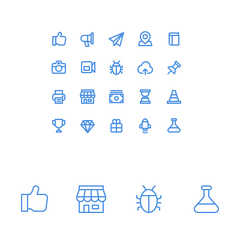 Hire Jenneke Choe - Portfolio - Icon design