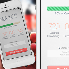 Hire Daniel Chi - Portfolio - Walk it Off iOs health App