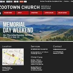 Hire Roger Flynn - Portfolio - Zootown Church