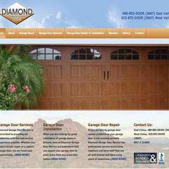 Hire Vicki Farrington - Portfolio - Diamond Garage Doors, AZ
