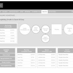Hire Dan Posnack - Portfolio - wireframe for upcoming iPad and Android Tablet