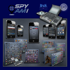 "Hire Brian Kemper - Portfolio - ""SPYAMI"" - A Mobile App Spy Location Game"