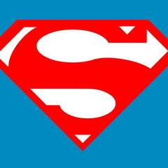 Hire David Abling - Portfolio - Flat Superman Logo in CSS/HTML Only