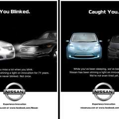 Hire Mary Seale - Portfolio - Nissan Print Advertisements: Experience Innovation