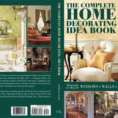 Hire Elizabeth Burrell - Portfolio - Decorationg Idea Book Cover Design