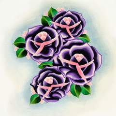 Hire Adam Gillespie - Portfolio - Purple Roses