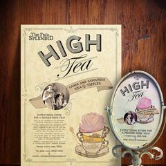 Hire ruth perrin - Portfolio - High Tea POS