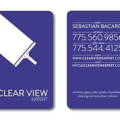 Hire Patrycja Whipp - Portfolio - ClearView Expert Business Card