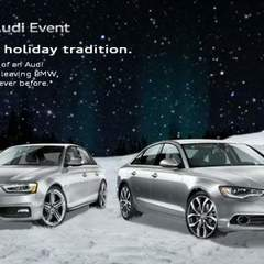 Hire Robert D. Karns - Portfolio - Audi Seasonal Campaign