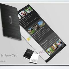 Hire Sertac Mustafaoglu - Portfolio - Brochure & Name Card Design