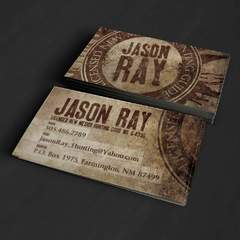 Hire Grant Darrah - Portfolio - Jason Ray Business Cards