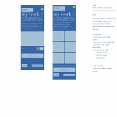 Hire Malik Smith - Portfolio - MSME Co. 1.0 Wireframe (Personal Portfolio Site)