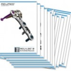 Hire Patty Reagin - Portfolio - 20 Page Brochure for a Wrist Plating System