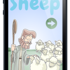 Hire Wim de Nood - Portfolio - iOS App: Little Lost Sheep