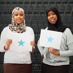 "Hire Gene C - Portfolio - ""I Am A Star"" campaign for Somalia"