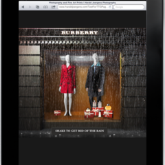 Hire Penelope Morla - Portfolio - BURBERRY (Tablet App Design)